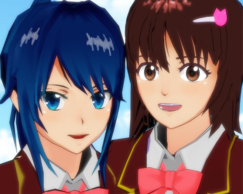 Magnets from Sakura School Simulator Game